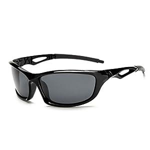 Night Vision Glasses For Headlight Polarized Driving Sunglasses UV400 Protection Night Eyewear for Men Driving (Black)