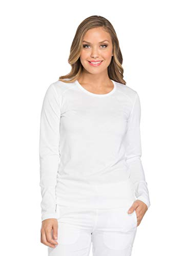 Women's Dynamix Knit Long Sleeve Underscrub T-Shirt (Dickies Womens Long Sleeve Shirts)
