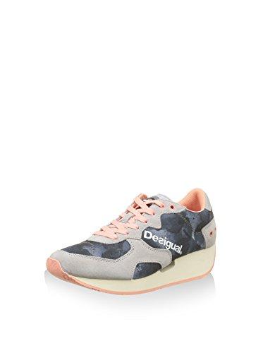 Desigual  Shoes_Sneaker Trend, 36, 2000 Negro, Baskets pour femme noir noir EU 36