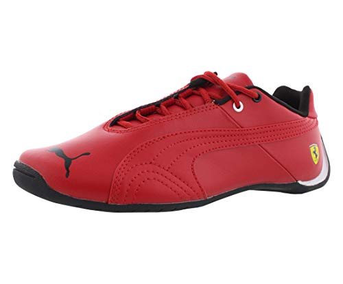 PUMA Future Cat SF JR Sneaker (Little Kid/Big Kid) , Rosso Corsa/Rosso Corsa, 7 M US Big Kid (Puma Casual Cat Future)
