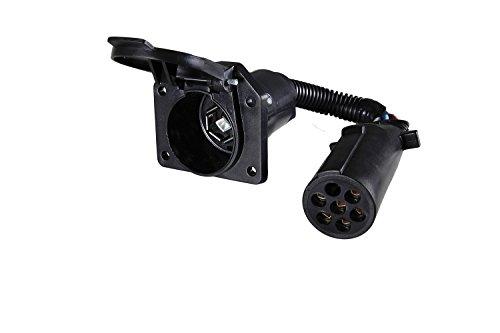 Round to 7 RV Blade Adapter (7 Pole Rv Blade)