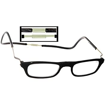 969807b70c25 Clic Readers Reading Glasses - Clic Readers Expandable Black XXL   Black  2.00 Magnification