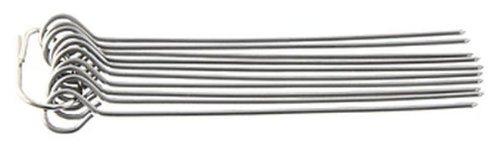 FACKELMANN 56801, Rouladen-Nadeln 10 cm, 10 Stück, Edelstahl rostfrei