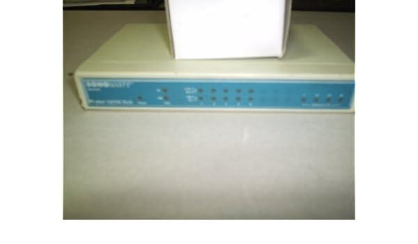 unmanaged desktop SohoWare 10//100 Mbps AutoSensing Hub Hub 5 x 10//100