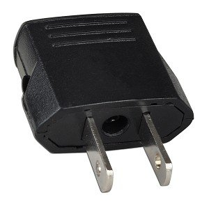 Euro to US Plug Adapter - Use Your European Electronic Devic