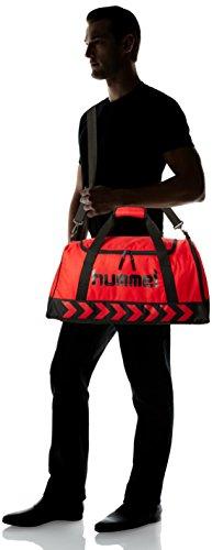 Hummel Unisex Sporttasche Authentic True Red/Black