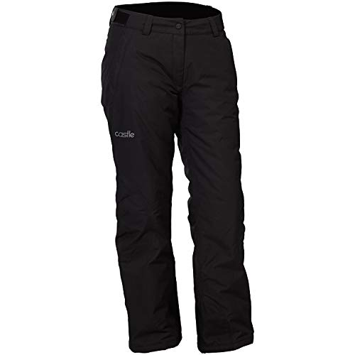 Castle X Bliss Womens Snowmobile Pants Black LRG (Womens Snowmobile Pants)