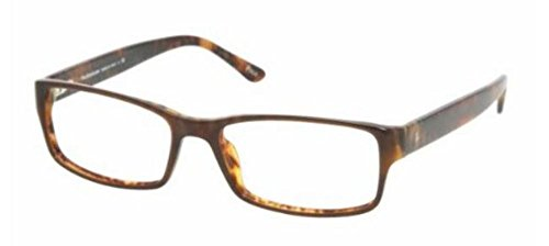 Polo Men's PH2065 Eyeglasses Top Brown/Havana 54mm by Polo Ralph Lauren