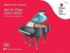 WP451 - Bastien New Traditions - All In One Piano Course - Primer B (Piano Course Bastien)