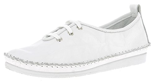 Andrea Ladies Conti Dentelle Blanc-0020502