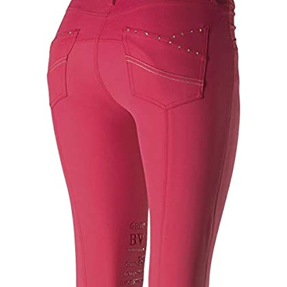 Image of Breeches B Vertigo Horze Olivia Luxury Women's Knee Patch Breeches
