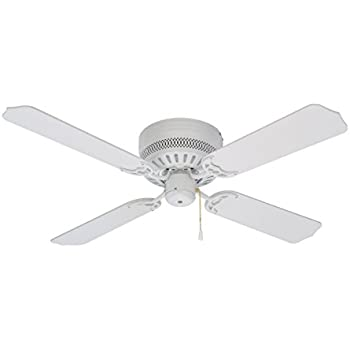 Mainstays 42 Inch Ceiling Fan And Light Kit White