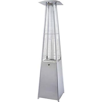 40,000 BTU Stainless Steel Pyramid Flame Heater