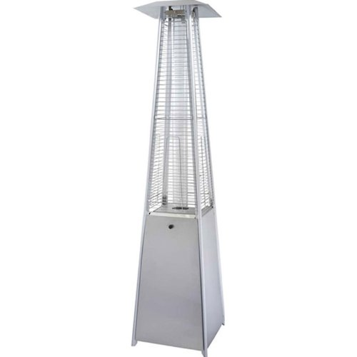 The Flame - Quartz Stainless Steel Propane Patio Heater (Patio Heater Gas For Bottle)