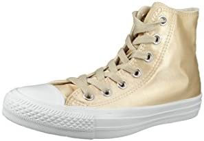 Converse 557940C Womens Other Fabric Trainer Beige Size: 5.5