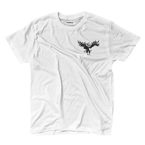 KiarenzaFD T-Shirt Tattoo Ink Old School Eagle Wings Logo Heart