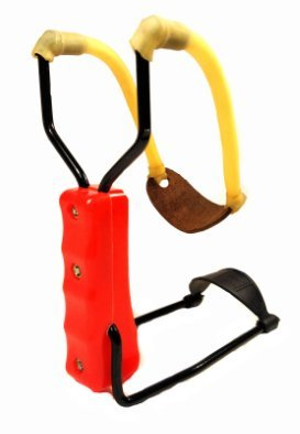 Slingshot Wrist Support Folding Arm Brace High Velocity Catapult Hunting Fishing Target Practice Orange by DC (Black Widow Paint)