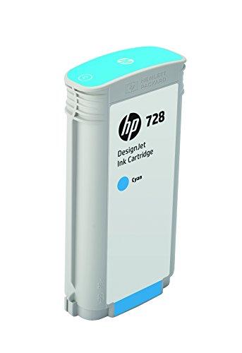 HP 728 130-ml Cyan DesignJet Ink Photo #1