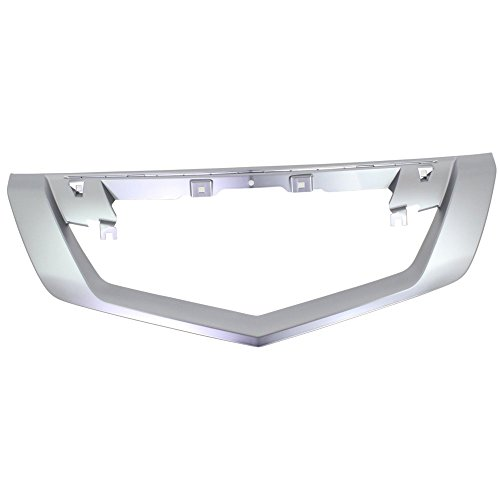 Grille Trim Molding for 2009-2011 Acura TL Plastic Satin ()