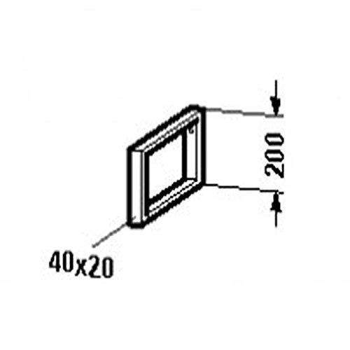 Duravit Console Support - Duravit VE990300000 Console support bracket , Vero