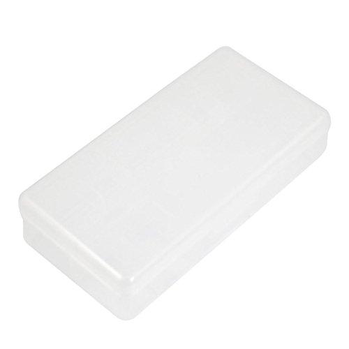 Plastic 9 Compartments Deux couches d'attirail de pêche crochet Lure Holder Box Case