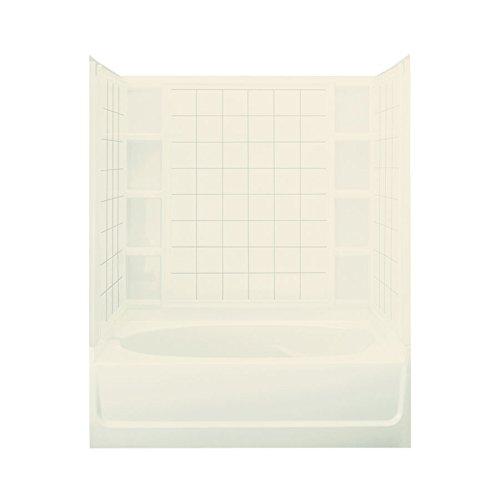STERLING 71110129-96 Ensemble AFD Bath Tub and Shower Kit, 60-Inch x 36-Inch x 74.25-Inch, - Bathtub Afd