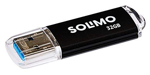 Amazon Brand – Solimo JiffyTransfer 32GB USB 3.0 Pendrive