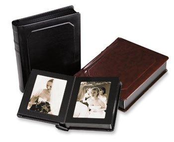 (8x10 Professional Black SLIP-IN Wedding Album, 30 Page - 30 images)