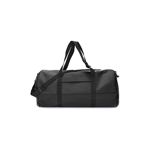 Rains Travel Duffle Bag One Size Black by RAINS