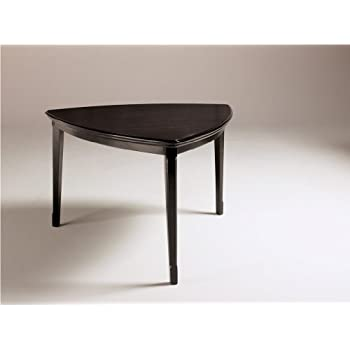 dark brown triangle dining room counter table by ashley furniture tables. Black Bedroom Furniture Sets. Home Design Ideas
