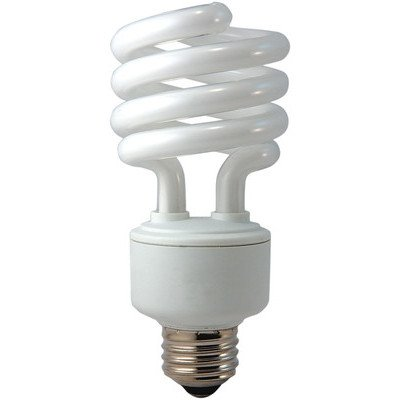 Eiko SP23/50Kx50 SP23/50K 23W 120V 5000K spiral SHAPED Light Bulb (Pack of 50) by Eiko