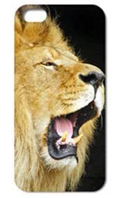 Fashion The Lion Pattern Protective Hard Case Cover For iPhone 5 5S #082