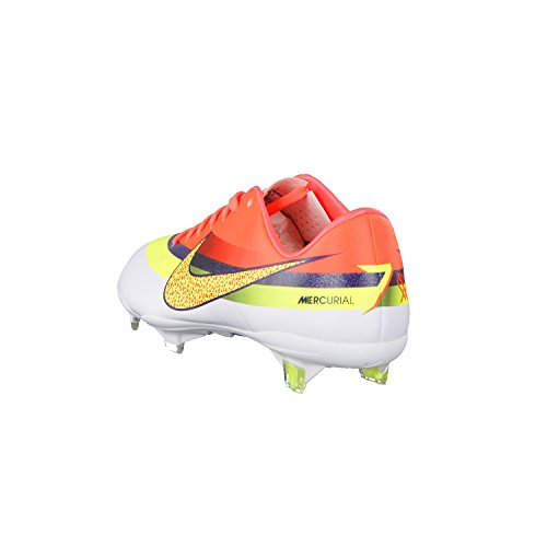 Nike Mercurial Vapor IX CR7 FG Football Boots White/Volt/Total Crimson z2akyDHP