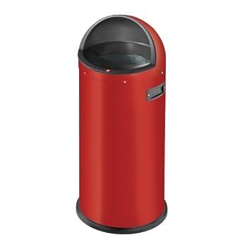 Image of Hailo Quick 50 Waste Bin, Red Floor Mats & Matting