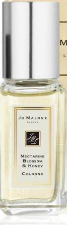 Jo Malone Nectarine Blossom & Honey Cologne 0.3 oz Travel Spray 1/3 of Full Size - Honey Nectarine