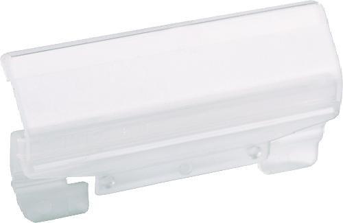 Leitz 2455/6116-00-03 - Portacartellini per cartelle sospese, 60 x 33 mm, 50 pezzi, colore: Trasparente Esselte Leitz