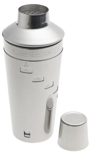 Norpro Stainless Steel Recipe Cocktail Shaker