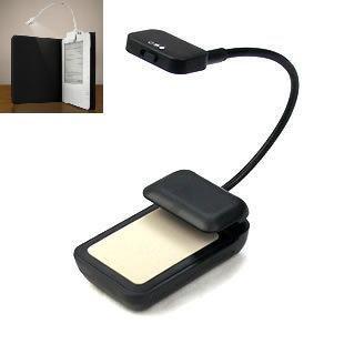 Lectura lámpara de luz LED para libros electrónicos E-reader ...