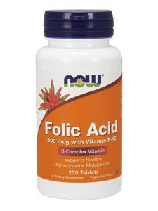 Folic Acid 800mcg 250C