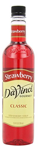 Davinci Gourmet Classic Syrup, Strawberry, 25.4 Ounce (Syrup Strawberry Drink)