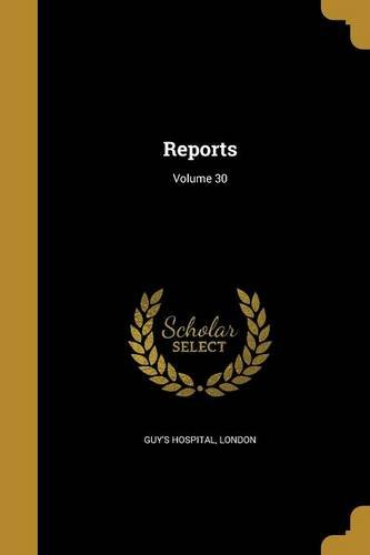Read Online Reports; Volume 30 pdf