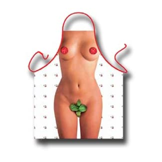 Naked Ladies Tomato and Basil Apron