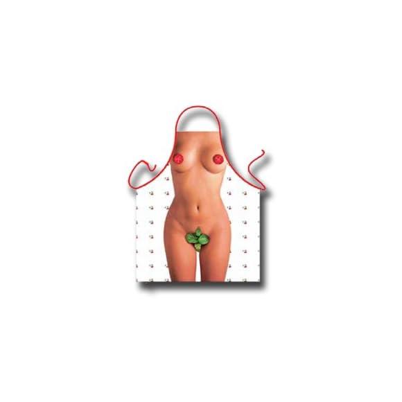 Naked Ladies Tomato and Basil Apron