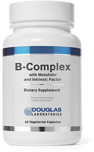 - Douglas Laboratories® - B-Complex w/ Metafolin - Supports Blood Cells, Hormones, and Nervous System* - 60 Capsules