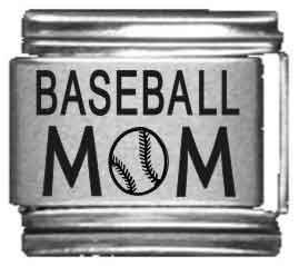 Baseball Mom Laser Italian...