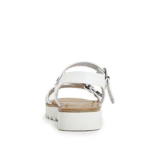 PRENDIMI by Scarpe&Scarpe - Sandalias bajas cruzadas con correa en el tobillo Blanco