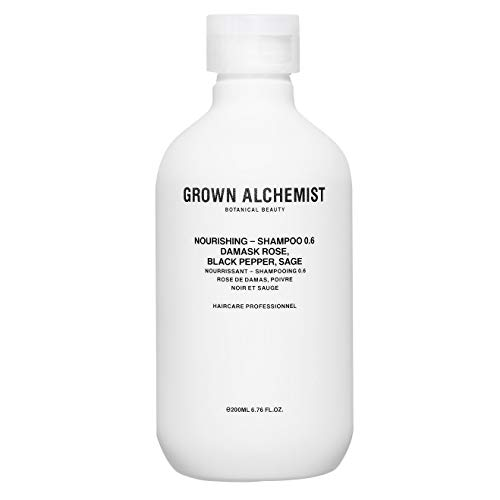 (Grown Alchemist Nourishing - Shampoo (0.6) Damask Rose, Black Pepper, Sage - 200ml)