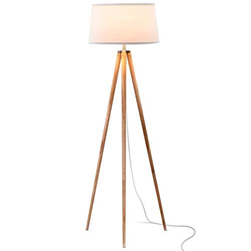 Brightech Emma LED Tripod Floor Lamp – Mid Century Modern