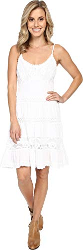 Scully Women's Summer Wow Them Party Dress White Large ()