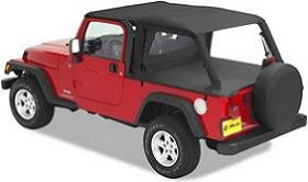 Superior Bestop Bikini Top For 2004   2005 Jeep Wrangler